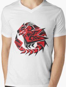 Monster Hunter - Rathalos Mens V-Neck T-Shirt
