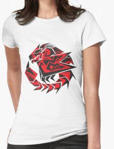 Monster Hunter - Rathalos Womens Fitted T-Shirt