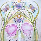 THE HOLY GRAIL [butterflies] by Gea Jones