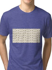 I love cacti illustration. Cactus background  Tri-blend T-Shirt