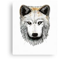 One Pack Wolf Canvas Print