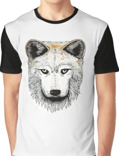 One Pack Wolf Graphic T-Shirt