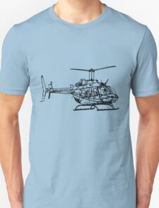 Bell 206L4 Helicopter T-Shirt