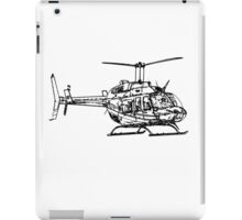 Bell 206L4 Helicopter iPad Case/Skin