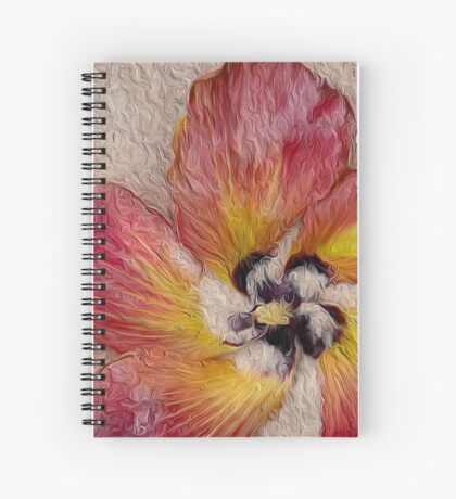 Oiled Cotton Tree Spiral Notebook