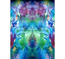 In depth and beneath the mirrored self Photographic Print
