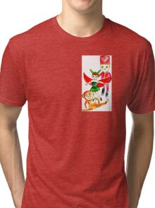 fly fairy fly  by Lollypop Arts Tri-blend T-Shirt
