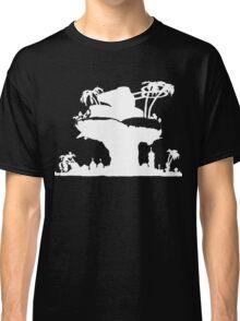 Gorillaz - Plastic Beach (Silhouette) Classic T-Shirt
