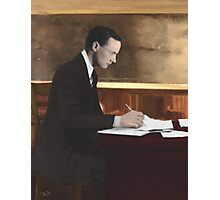 Padraig Pearse, 1879-1916, at St. Enda's Photographic Print