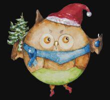 Christmas owl Kids Tee