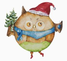 Christmas owl Kids Clothes