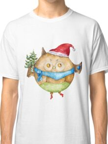 Christmas owl Classic T-Shirt