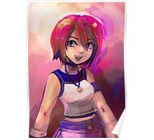 Kairi - Painterly Portrait Poster