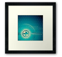 Vintage abstract design for all. Framed Print
