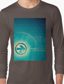 Vintage abstract design for all. Long Sleeve T-Shirt