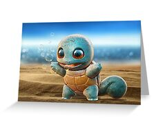 Realistic Pokemon: Squirtle Greeting Card