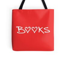 Book Hearts Tote Bag
