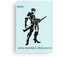 Raiden Metal Print