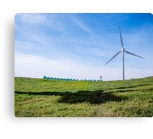 Green Machine - on top of the world Canvas Print