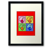 Kirby Colour Framed Print