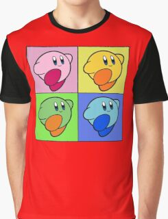 Kirby Colour Graphic T-Shirt