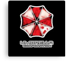 Nemesis edition Umbrella Corporation iPhone case, T-Shirt, and apparel   Canvas Print