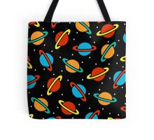 Space Planets Pattern Tote Bag