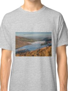 Low Cloud over Talybont Reservoir Classic T-Shirt