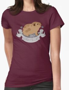 Crazy Guinea Pig Lady (Banner) T-Shirt