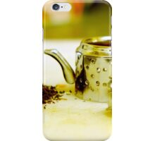 Tea infuser iPhone Case/Skin