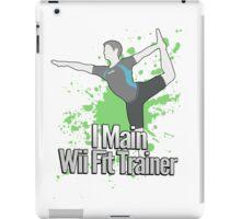 I Main Wii Fit Trainer (Male Alt) - Super Smash Bros  iPad Case/Skin