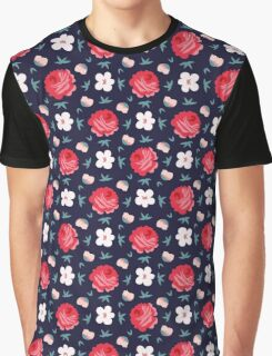 Retro flowers Graphic T-Shirt