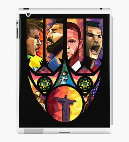 World Cup in Brazil poster Art iPad Case/Skin