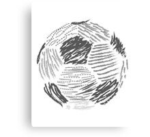 Soccer ball Canvas Print