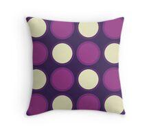 Loose Yourself - Circle Pattern Throw Pillow