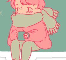 Get Warm Sticker