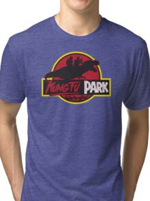 Kung Fu Park Tri-blend T-Shirt