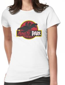 Kung Fu Park Womens Fitted T-Shirt