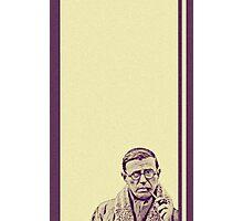 Sartre 02 Photographic Print