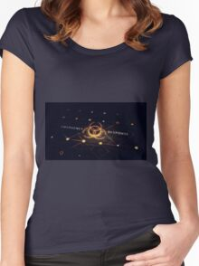 The division Women's Fitted Scoop T-Shirt