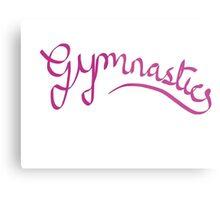 Gymnastics - Ribbon design Metal Print