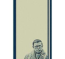 Sartre 03 Photographic Print