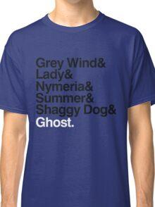 The Direwolves Classic T-Shirt
