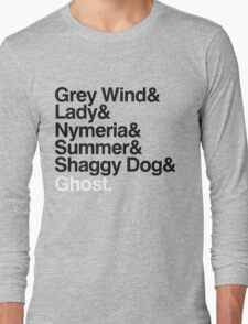 The Direwolves Long Sleeve T-Shirt