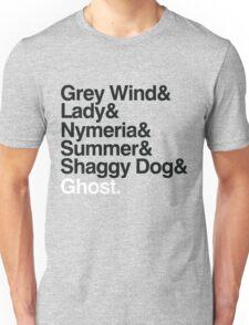 The Direwolves Unisex T-Shirt