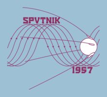 Sputnik 1 One Piece - Short Sleeve