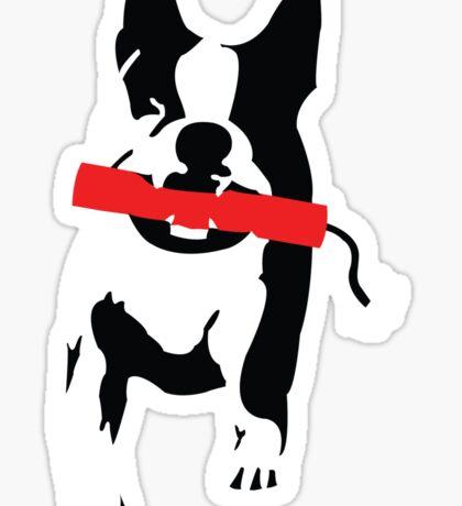Bomb Dog Sticker