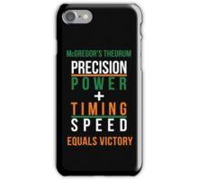 Conor McGregor's Theorem - UFC iPhone Case/Skin