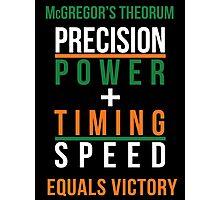 Conor McGregor's Theorem - UFC Photographic Print