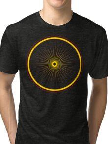 Bike spoke sun Tri-blend T-Shirt